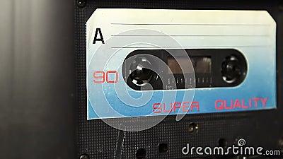 Bande de cassette sonore de vintage