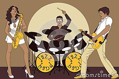 Bande de jazz