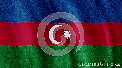 Bandeira de Azerbaijan vídeos de arquivo