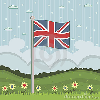 Bandeira de Grâ Bretanha