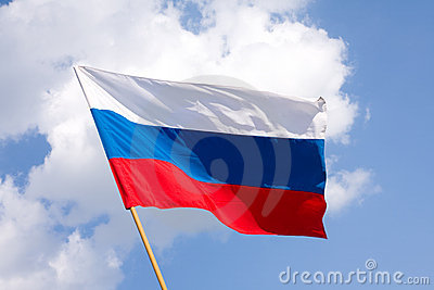 Bandeira do russo
