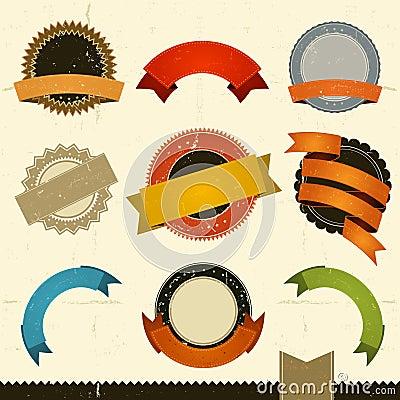Bandeiras, concessões e fitas do Grunge