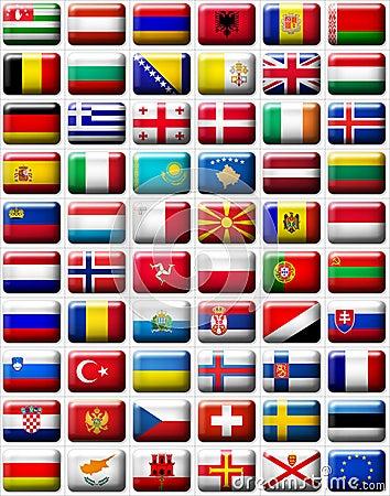 Bandeiras de Europa