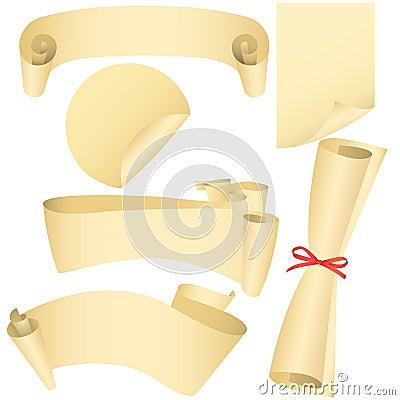 Bandeiras de Grunge, rolos, jogo do diploma
