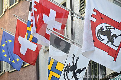 Bandeiras suíças