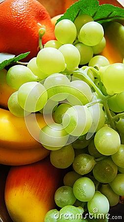 Bandeja de la fruta