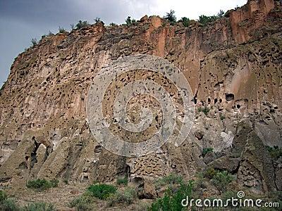 Bandelier Ruins Cliff