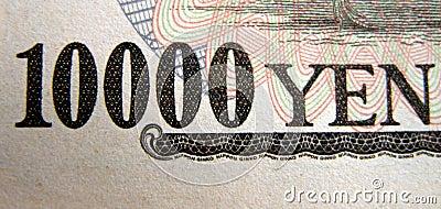 Bandera de 10000 Yenes