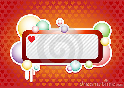 Bandera de los bubles del amor