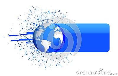 Bandera del globo
