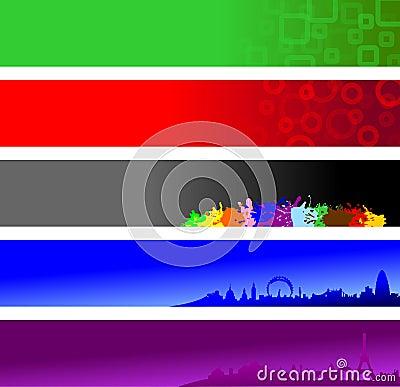Banderas del Web site