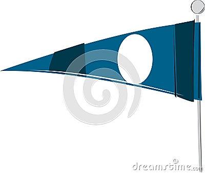Banderín ilustrado de los deportes