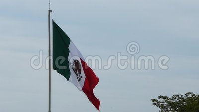 Bandierina del Messico archivi video
