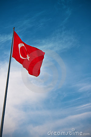 Bandierina della Turchia