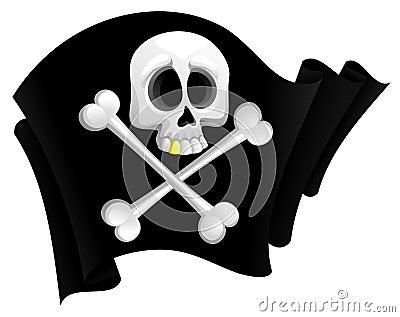 Bandierina di pirata