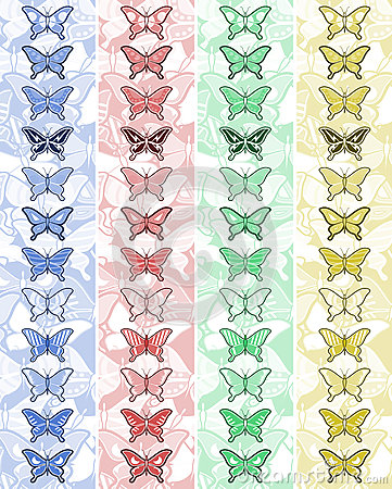 Bands butterfly