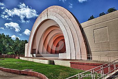 Bandshell on a summer day