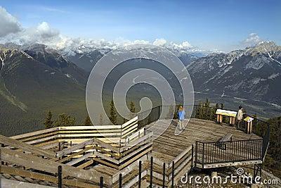 Banff National Park - Alberta - Canada Editorial Stock Photo