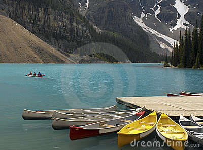 Banff National Park - Alberta - Canada Editorial Stock Photo