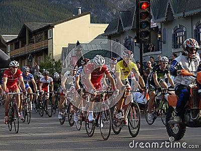 Banff national park bikefest Editorial Photo