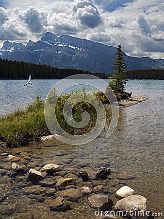 Banff National Park - Canada Editorial Photo