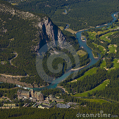 Free Banff Springs Hotel Stock Photography - 15612912