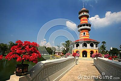 Bang Pa-In Aisawan, rayal summer palace,thailand