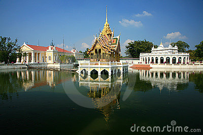 Bang Pa-In Aisawan, rayal summer palace,thailand