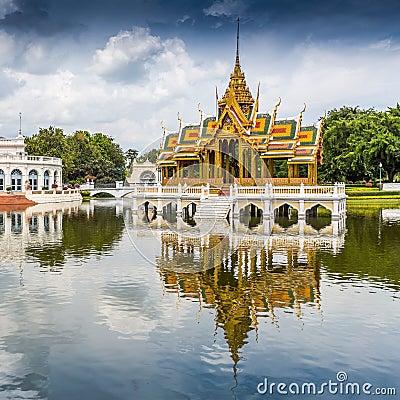 Free Bang Pa-In Palace Stock Image - 38587951