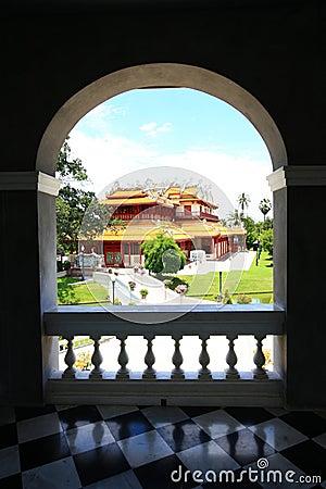 Free Bang Pa In Royal Palace Royalty Free Stock Photo - 16453435
