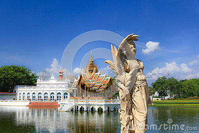 Bang Pa-In Royal Palace Editorial Stock Image