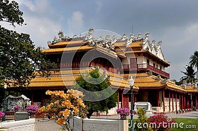 Bang Pa-In, Thailand: Chinese Pavilion at Palace