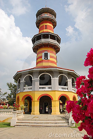 Bang Pa-In, Thailand: Observatory at Royal Palace