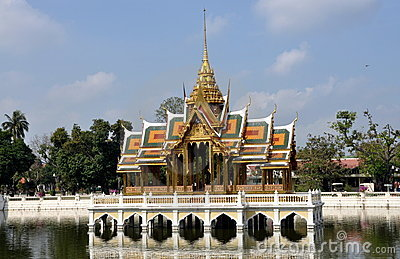 Bang Pa-In, Thailand: Royal Palace Pavilion