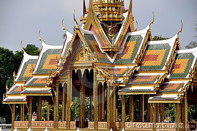 Bang Pa-In, Thailand: Summer Palace Pavilion