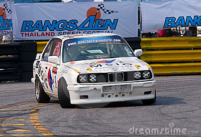 Bang Saen Speed Festival February 2012 Editorial Stock Photo