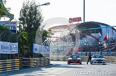 ฺBangasen Thailand Speed Festival Editorial Photography