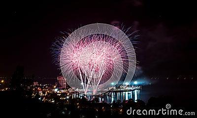 ฺBangasen Thailand Speed Festival Editorial Stock Photo