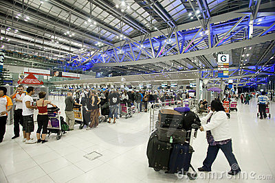 Bangkok airport Editorial Image