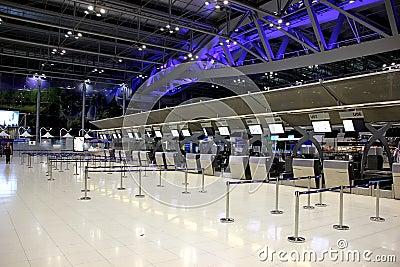 Bangkok airport Editorial Photo