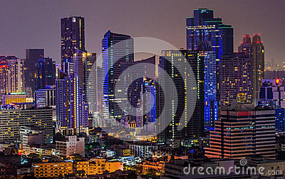 Bangkok city of light
