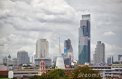 Bangkok cityline Editorial Photography