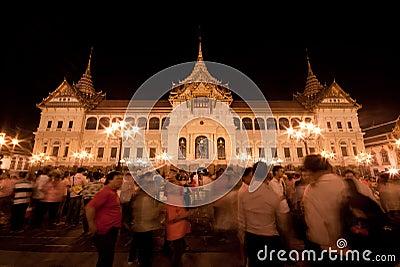 Bangkok-Dec 5:The Grand Palace Editorial Photography