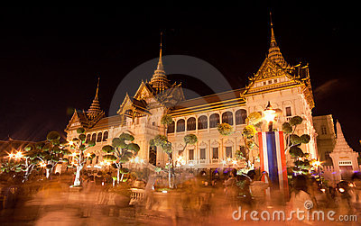 Bangkok-Dec 5:The Grand Palace Editorial Photo