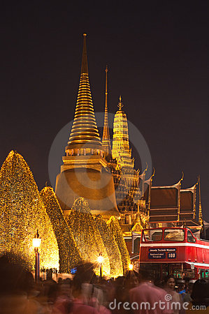 Bangkok-Dec 5:The Grand Palace Editorial Stock Image
