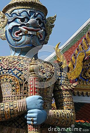 Free Bangkok Demon Stock Images - 495124