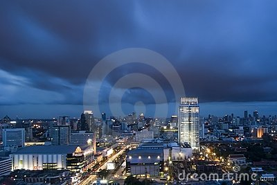 Bangkok en la oscuridad