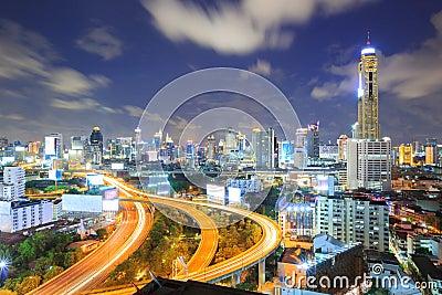 Bangkok Highway to Downtown