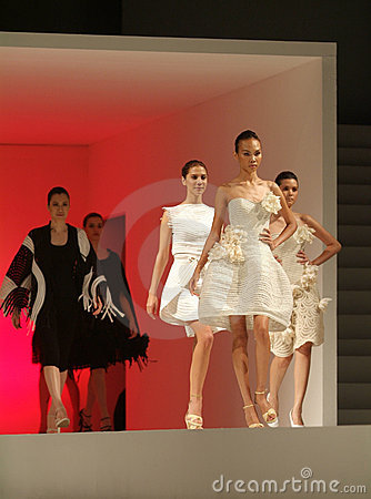 Bangkok International Fashion Fair 2008 Editorial Image