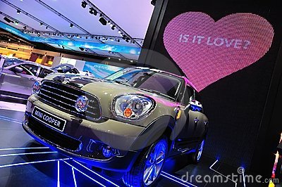 Bangkok International Motor Show Editorial Stock Photo